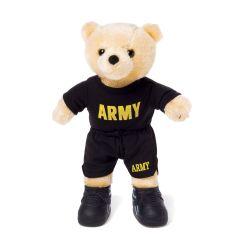 10'' Mini US Army Teddy Bear in PT Uniform