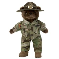 10'' Mini US Army Drill Instructor in Army Combat Uniform