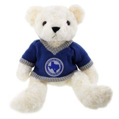 12'' Large US Air Force Teddy Bear in USAF Lackland Base Sweater