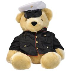 24'' Extra Large US Marine Corps Teddy Bear in Dress Blues