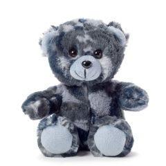 6'' Small Blue Camo Teddy Bear